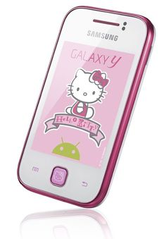 Samsung Galaxy Y Hello Kitty Edition Headed To German Retailers | The Droid Guy