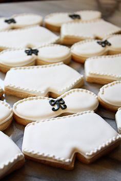 Sexy & Sweet Lingerie Sugar Cookies, via Etsy