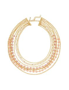 Multi-Strand Chain & Bead Necklace | Women's Jewelry | THE LIMITED