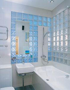 Стеклоблоки в интерьере, дизайн, в ванной, в гостиной, стены, перегородки, арки, фото и видео | Все о дизайне и ремонте дома