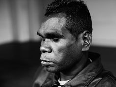 portrait of Geoffrey Gurrumul for Dumbo Feather by Cory White