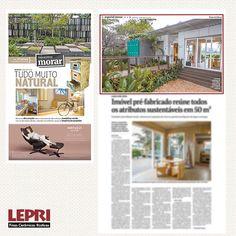 Mídia Impressa - Jornal Folha de S.Paulo destaca a participação da Lepri Finas Cerâmicas Rústicas na Casa Cor 2016.