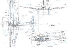 Mitsubishi Ki-51 blueprint