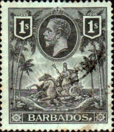 Barbados 1912 Seal of the Colony SG 178 Fine Used Scott 124 Other West Indies and British Commonwealth Stamps HERE!