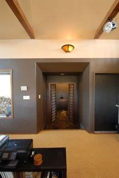 Doorway to the basement.