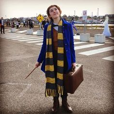 This Newt Scamander, who looks ready to explore the world of witchcraft and wizardry. | 32 Comic-Con Cosplay Outfits That'll Inspire Your Halloween Costume