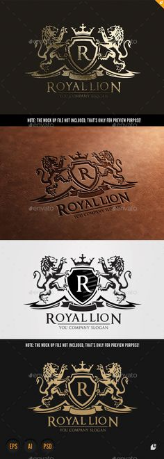 Royal Lion Logo Template #design Download: http://graphicriver.net/item/royal-lion/9824938?ref=ksioks