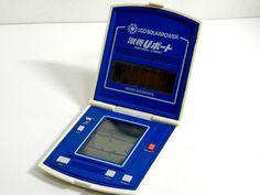 80s Retro Bandai LCD Handheld Game Solar Power Gekisen U-Boat Made in Japan_63 #Bandai