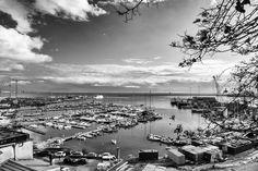 Il #porto di #Salerno #blackandwhite #photography #fotografia
