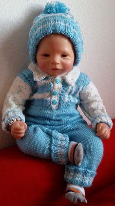 Babystrampler und Mütze Nico Gr. 56