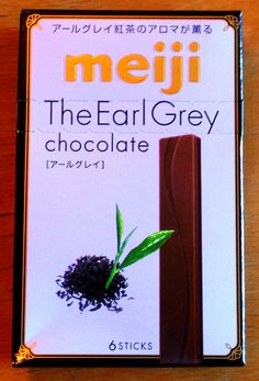 Sugar Spoon: Product Review - The Earl Grey chocolate (Meiji)