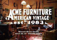 インテリアショップ「アクメ ファニチャー」が関西初出店、大阪・堀江に2月オープン   ベイクルーズが展開するインテリアショップ「アクメファニッチャー(ACME Furniture)」が、2月10日(金)、大阪・堀江に関西エリア1号店をグランドオープンする。    総面積90坪という新店舗は3フロア構成。1・2階は、ロサンゼルスのダウンタウンエリアを彷彿とさせるウェアハウスの様な内装空間。3階は白を基調としたシンプルでモダンな空間になっており、定期的にギャラリーやイベン...