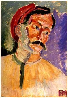 .Andre Derain  1905  painted by Matisse