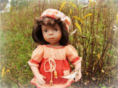 До свидания, лето! Kathe Kruse German Doll Minouche Sylvia Natterer / Куклы Sylvia Natterer, Minouche и другие. Kathe Kruse и Petitcollin / Бэйбики. Куклы фото. Одежда для кукол
