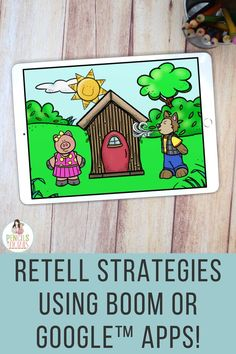 I'm sharing how I use interactive fairy tales to teach essential retell strategies to preschool, kindergarten, and first grade students. My kids have loved these self-checking ones that include sound!