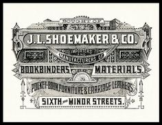J. L. Shoemaker & Company | Sheaff : ephemera