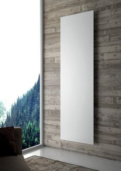 Collezione termoarredi e radiatori di design - Hotech Design Radiators Interior And Exterior, Mountain Interiors, Wall Radiators, House Exterior, Exterior Design, New Homes, Energy Efficient Homes, Modern House Exterior, Radiant Heaters
