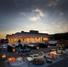 Jumeirah Grand Hotel via Veneto - Rooftop Terrace