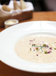 A Maryland native, Shannon Overmiller proudly showcases indigenous foods as head toque at Alexandria's recently resurrected Majestic—where her signature she-crab soup fits squarely with the restaurant's locally-driven mission.