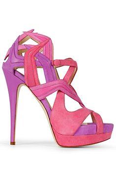 Pink & Purple makes me happy today. Burak Uyan Spring 2013
