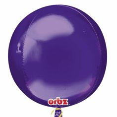Little Boo-Teek - Designer Party Supplies Online | Jumbo Party Balloons | Orbz Balloon - Purple...