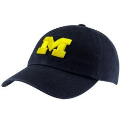 low priced bcd69 a37f0 NCAA Top of the World Michigan Wolverines Crew Adjustable Hat - Navy Blue  Top of the