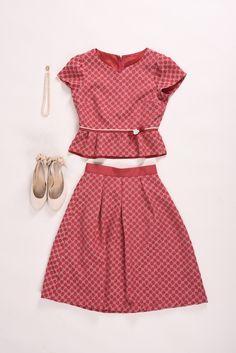 Two Piece Skirt Set, Princess, Skirts, Dresses, Fashion, Moda, Vestidos, Fashion Styles, Dress