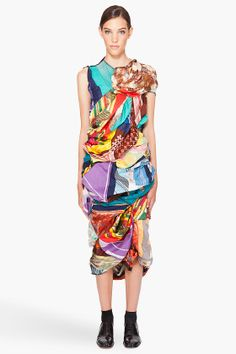 Full of awesome Commes Des Garcon http://www.ssense.com/women/product/comme_des_garcons/vintage_scarf_dress/44342?utm_source=cj&utm_medium=affiliate&utm_term=generic&utm_campaign=generic