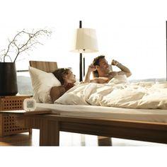 aXbo Couple Blanc - Réveil intelligent à cycles de sommeil