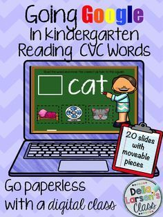 Use Google Classroom to read CVC words! Do you need ideas to go digital with reading for beginning readers? Your students will have so much fun on their digital device using this interactive word work resource. Your students will love dragging the movable pieces to the correct spots. It's never ...