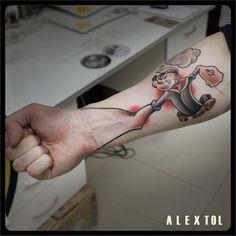 tattoo old school popeye - Szukaj w Google