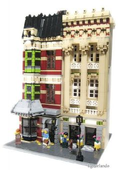 Westminster row: A LEGO® creation by L.G. Orlando : MOCpages.com