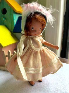 Vintage Bisque Nancy Ann Storybook Doll  131 Elsie by Jewelmoon