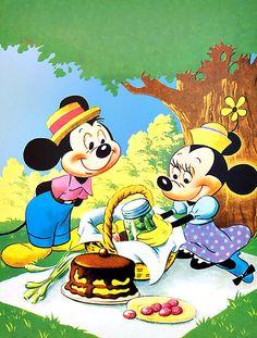 Disney Smile Mickey And Minnie Love, Mickey And Friends, Mickey Minnie Mouse, Minnie Mouse Pictures, Disney Pictures, Disney Pics, Disney Food, Disney Art, Walt Disney Life