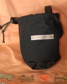 'Forever friends' dog treat bag.