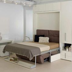 I want and need this space saving furniture it's also a sofa  Ito | Queen Beds | Resource Furniture