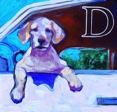 """This is for the Girls Just wanna Paint challenge- the theme is """"expression"""" It was fun to paint big ( ish) after all the little 's. D Is For Dog, September 2014, Sally, Dean, Alphabet, Lettering, My Love, Friends, Creative"""