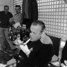 1968. Orson Welles en el rodaje de The Immortal Story.