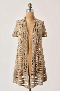 new crochet fashion . coats crochet cotton ~ fashion z38
