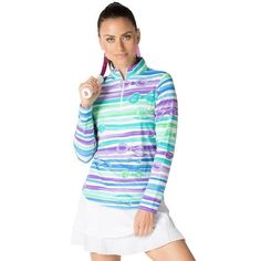 71db9fdbef5 IBKUL long sleeve top with and IceFil to stay up to 5 degrees cooler when  the heat is on!