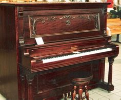 Epworth Upright Grand Piano | The Antique Piano Shop