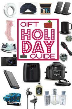 Holiday Gift Guide - something for him, her and you! Check this list out if you have someone that is hard to shop for at the holidays! #christmas #shopping #christmasgift #giftguide #stockingstuffers
