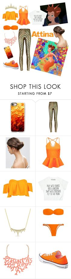 """""""Free as the ocean"""" by zebralover-333 ❤ liked on Polyvore featuring Casetify, ASOS, Boohoo, Anne Sisteron, Humble Chic and Converse"""