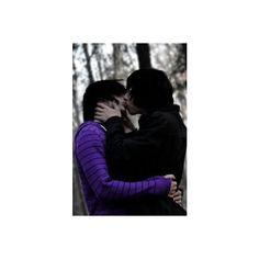 emo guys kissing   Tumblr ❤ liked on Polyvore