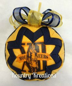 WV Handmade Quilted Ornaments 2012 $8.00 + $2.50 (shipping)