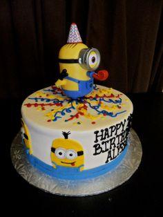 Despicable Me Minions birthday cake | Gala Bakery - San Lorenzo, CA | www.galabakery.com