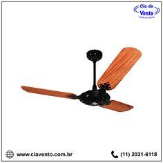 Ventilador de Teto Comercial (Sem Lâmpada) Venti-delta Pás de Madeira. Peça já o seu! (11) 2021-6118