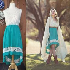 NWT Flying Tomato High Low Halter Dress Wow! So beautiful, new with tag from the Haley Boutique. This was a gift so the price has been torn off.  From Flying Tomato, this beautiful dress features a fitted lace bodice (lined) and a mint green high/low skirt trimmed in lace and also lined. Tie back halter, just gorgeous! Size S. Nonsmoking, pet-free home. Flying Tomato Dresses High Low