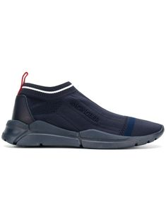 Moncler Adon Sneakers In Blue Leather Sneakers, Leather Heels, Calf Leather, Shoe Sites, Best Wear, Moncler, Sneakers Fashion, Calves, Men's Shoes