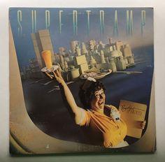 SUPERTRAMP BREAKFAST IN AMERICA VINYL 1979 A&M RECORDS FREE SHIPPING LP SP-3708